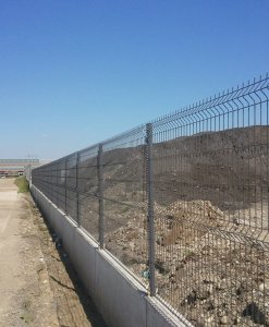 Strong Barrier – panou bordurat pentru gard Metallurgica Frigerio