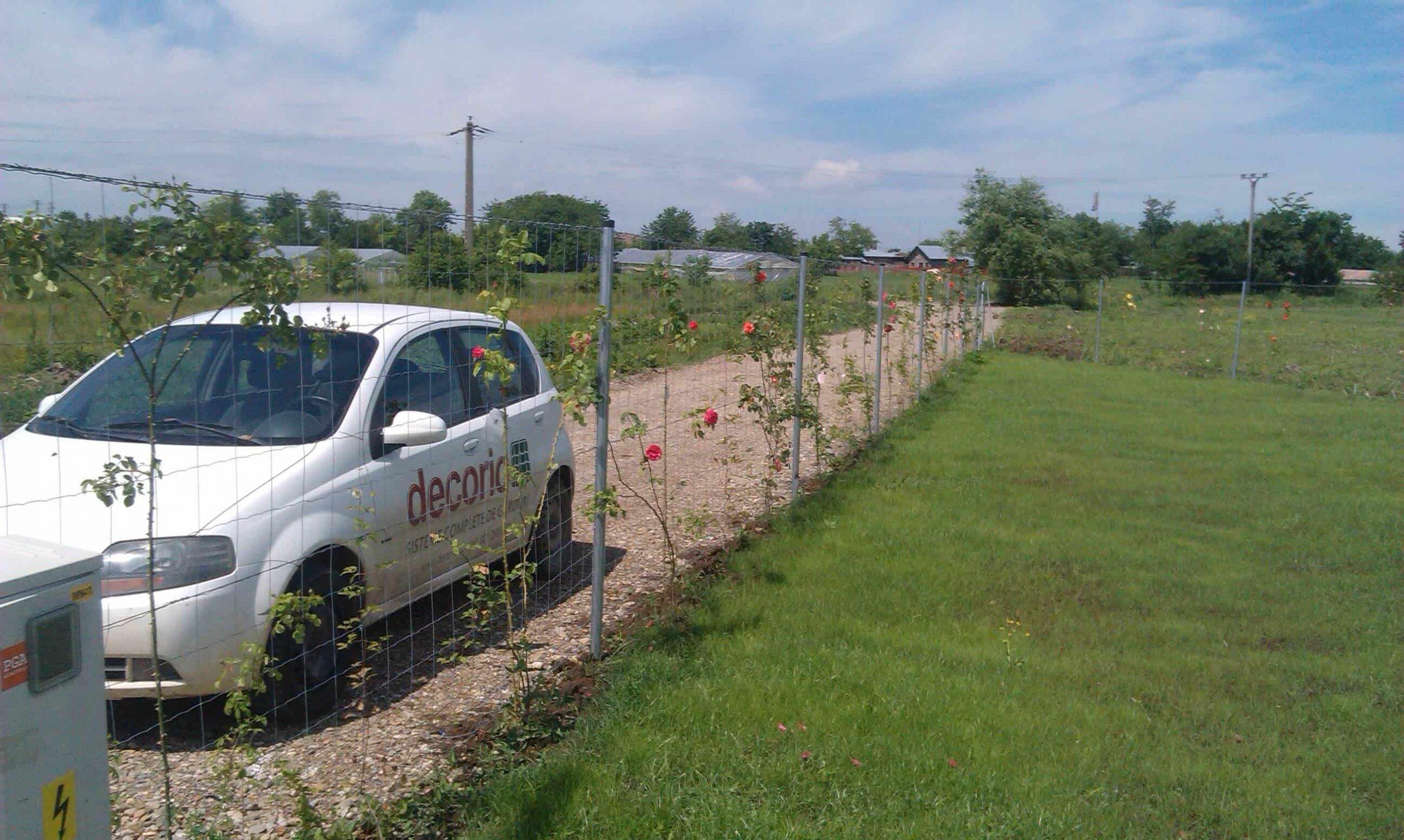 Stalpii rotunzi – potriviti pentru orice tip de gard metalic